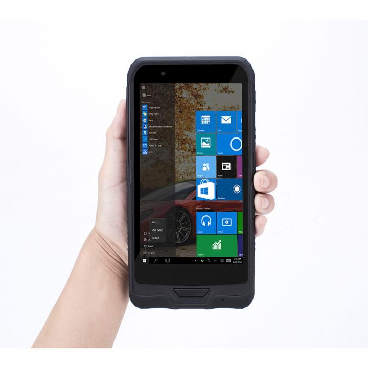 Rugline RT62H 6″ Windows 10 PDA Barcode Scanner w/Bluetooth Pistol Grip